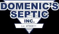 Domenic's Septic Service Logo